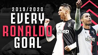 EVERY RONALDO GOAL🔥 | Watch All 37 CR7 Goals From His Incredible 2019/20 Season! | Juventus