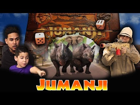 Jumanji Comes To Life!