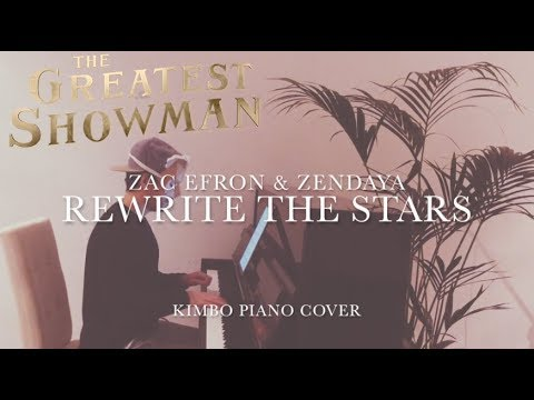 The Greatest Showman  Rewrite The Stars Piano  Zac Efron & Zendaya +Sheets