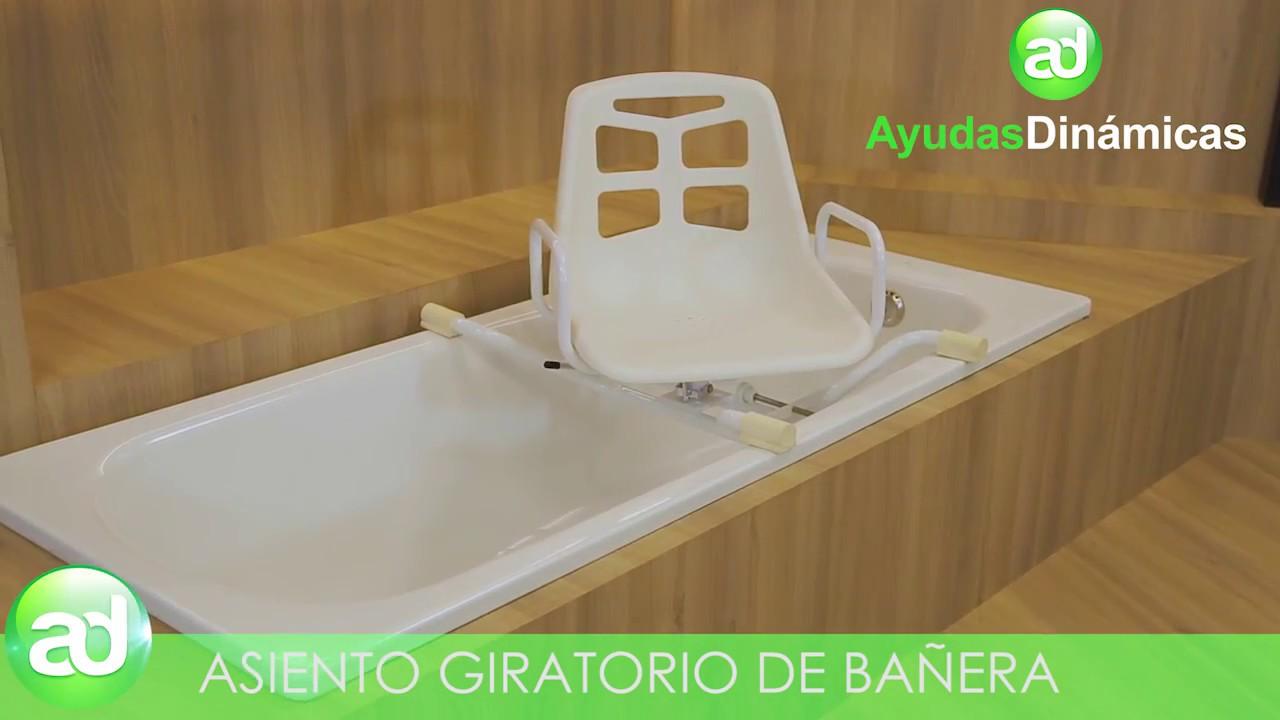 Asiento giratorio de bañera - Ayudas Dinámicas - YouTube 0b817fa0a733