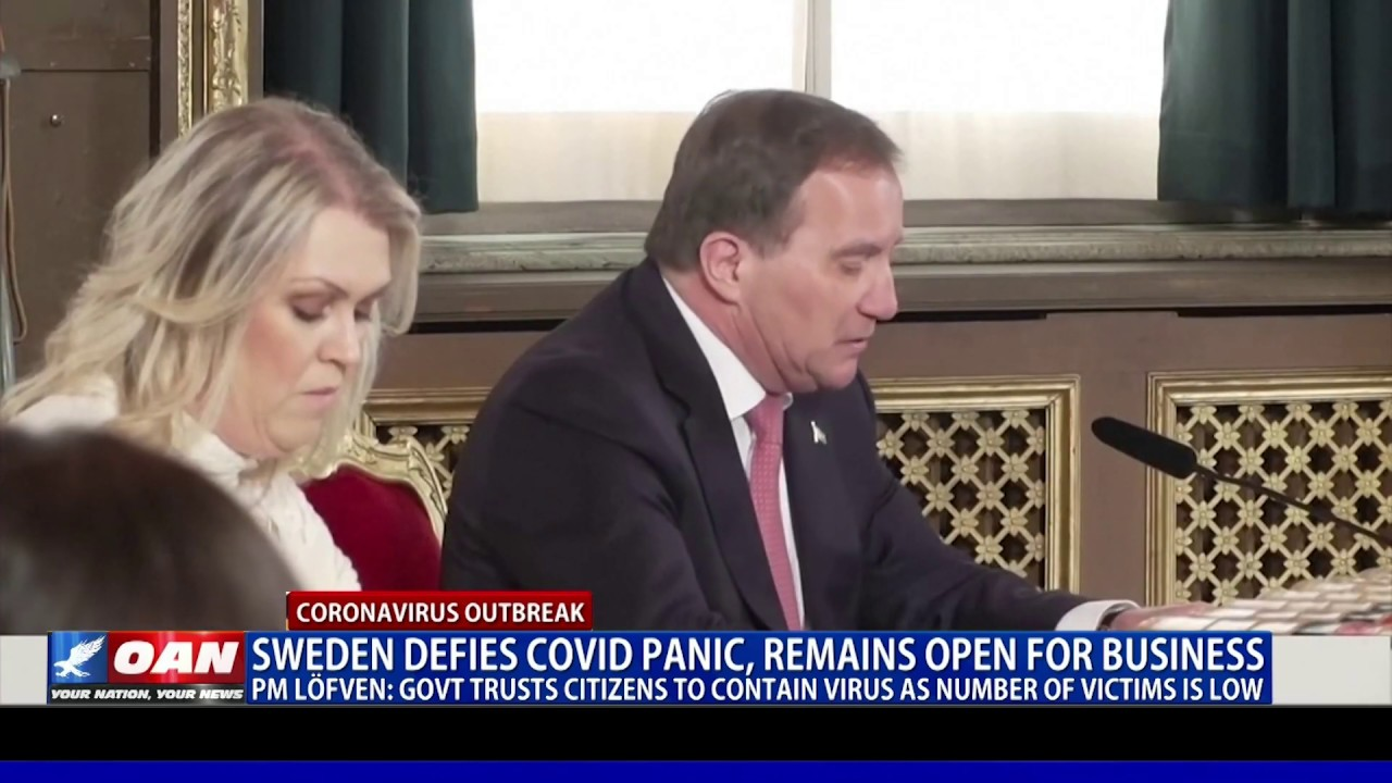 Sweden defies COVID-19 panic, remains open for business