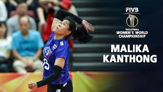 Fantastic Spikes Malika Kanthong (มลิกา กันทอง)   Thailand Volleyball World Championship 2018