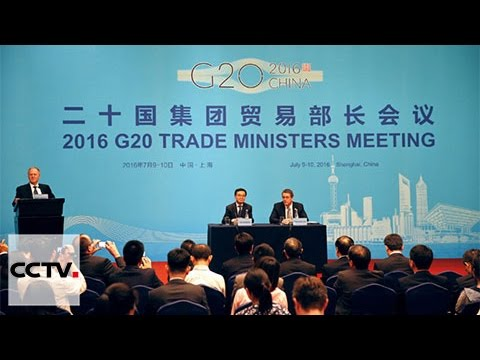 G20 Trade Ministers' Meeting kicks off in Shanghai