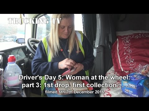 Driver's Day 5, Woman at the Wheel pt 3, first drop