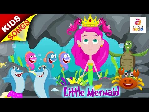 Little Mermaid Songs | Preschool Nursery Rhymes | New Kid Songs and Baby Songs