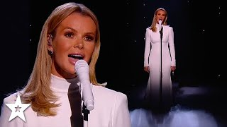 Amanda Holden Sings on Britain's Got Talent For The First Time! | Got Talent Global