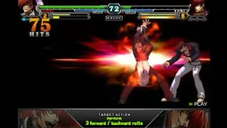 The King Of Fighters XIII Android - Iori Flames 100% Combo 88 hits