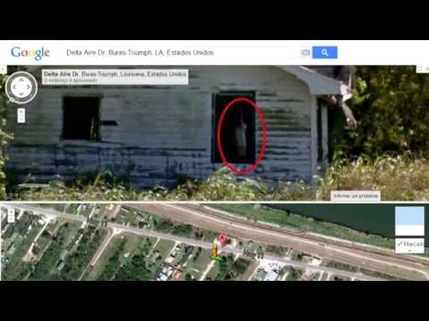 REAL Ghost Caught On Tape Google Street - YouTube