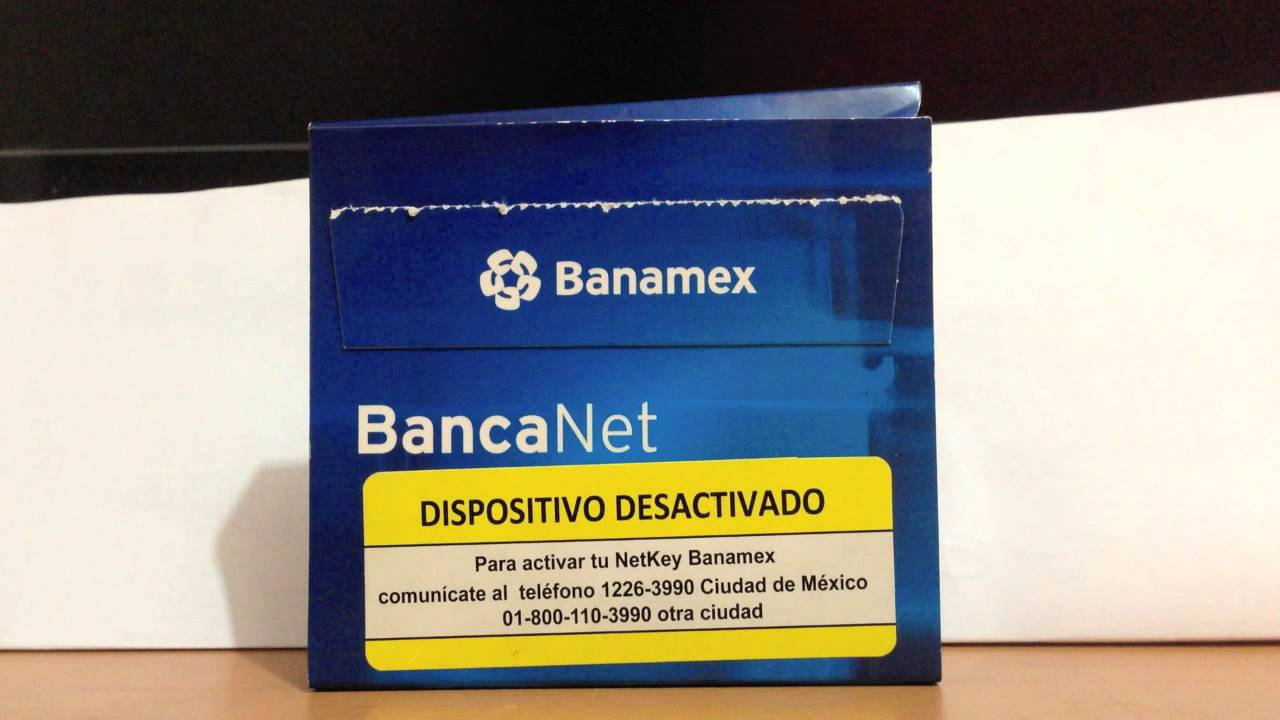 Banamex: Cómo Activar Netkey De Banamex E Ingresar A Banca