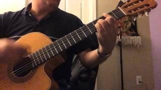 Ba Tou - Ebi Guitar Cover (Bm)آهنگ با تو از ابی