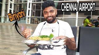 Costly Biriyani Inside Chennai Airport | Chennai To Bangkok travel experience