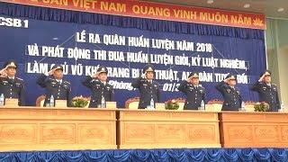 Tin: Lực lượng Cảnh sát biển Việt Nam sẵn sàng bước vào mùa huấn luyện mới