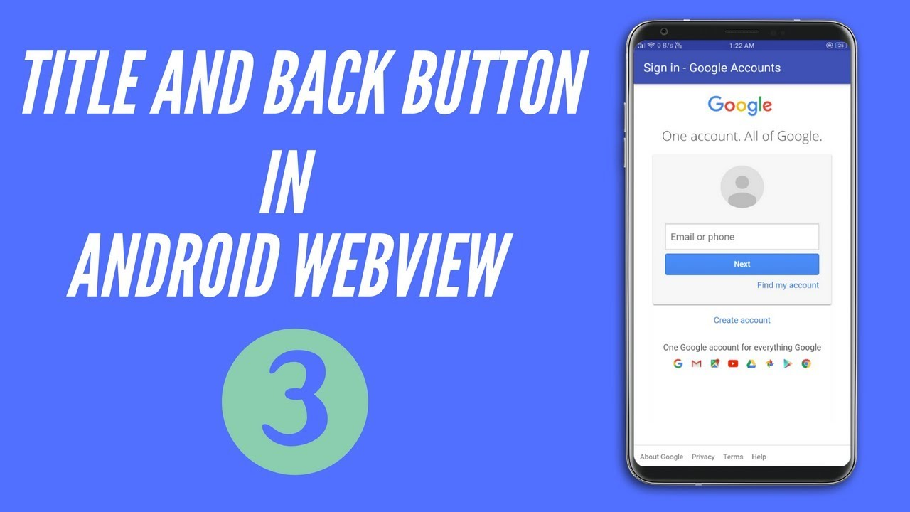Title And Back Button Event Webview Android Studio