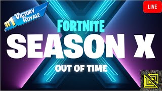 FORTNITE SEASON X STARTS RIGHT NOW | WE HAVE THE EPIC VICTORY GLEITER(X) | Road to 175 Subs
