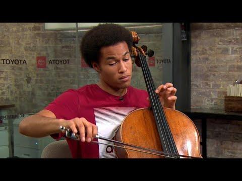 Royal wedding cellist Sheku Kanneh-Mason performs Bach,