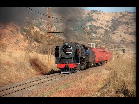 South African Steam: 15F 2914 Cabride to Cullinan (Full)