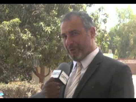 Interview from Gambia Television of CEO , Pascal Belda & Rotem Rohen Country Director Gambia