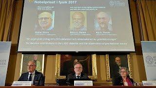 Nobel Fizik Ödülü Yerçekimi Dalgaları Araştırmasına Verildi