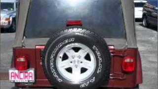 2004 Jeep Wrangler - San Antonio TX