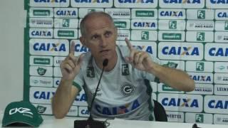 Goiás: Entrevista do técnico Sílvio Criciúma após o empate com Atlético