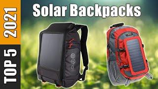 Solar Backpacks - The Best Solar Backpacks 2021