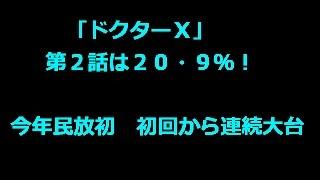 【米倉涼子 ドクターx 画像】「ドクターX」第2話は20・9%!今年民...