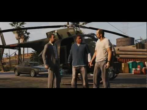 Grand Theft Auto V (GTA 5): Offizieller Trailer #2 auf deutsch (deutsche Synchro)