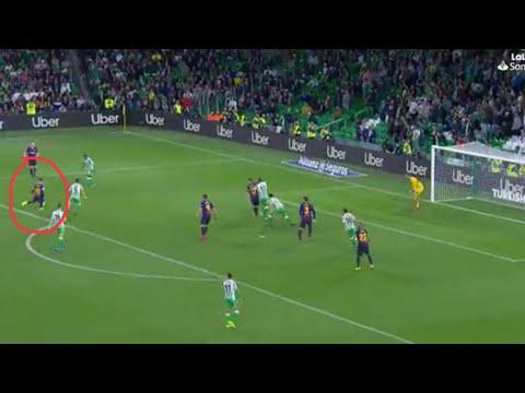 HISTORICO!! El golazo de vaselina de Leo Messi que levantó al Villamarín ?