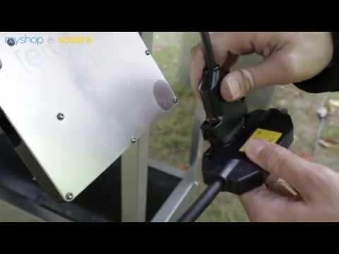 Montage kit solaire autoconsommation myshop solaire