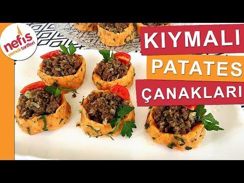 Kıymalı Patates Çanakları - Ev Yemekleri - Nefis Yemek Tarifleri