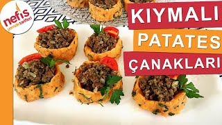 Kıymalı Patates Çanakları - Ev Yemekleri - Nefis Yemek Tarifleri thumbnail
