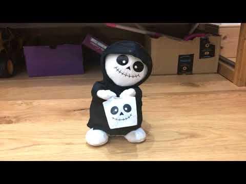 Singing Halloween Toy Skeleton