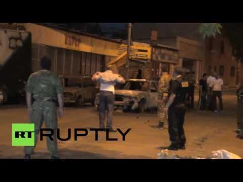 Полиция Армении опубликовала видео сдачи властям вооруженной группы в Ереване