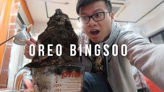 Massive Oreo Bingsoo, Korean Fried Chicken and Dessert Binge - vlog #022