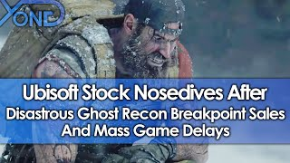 Ubisoft Stock Nosedives After Disastrous Ghost Recon Breakpoint Sales & Mass Game Delays