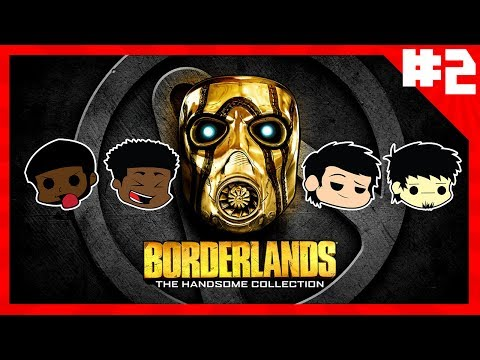 BORDERLANDS THE HANDSOME COLLECTION | BL2 playthrough pt. 2: killing bullymongs |