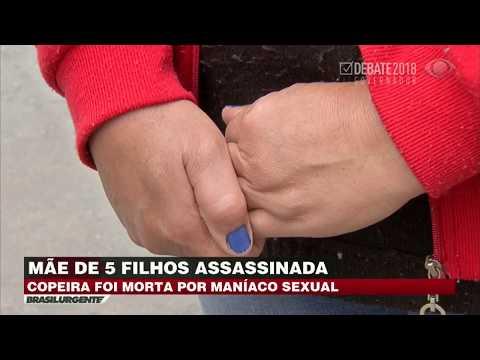 Mulher é assassinada por maníaco sexual na Grande SP