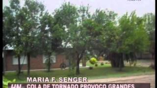 COLA DE TORNADO EN ALDEA SAN RAFAEL