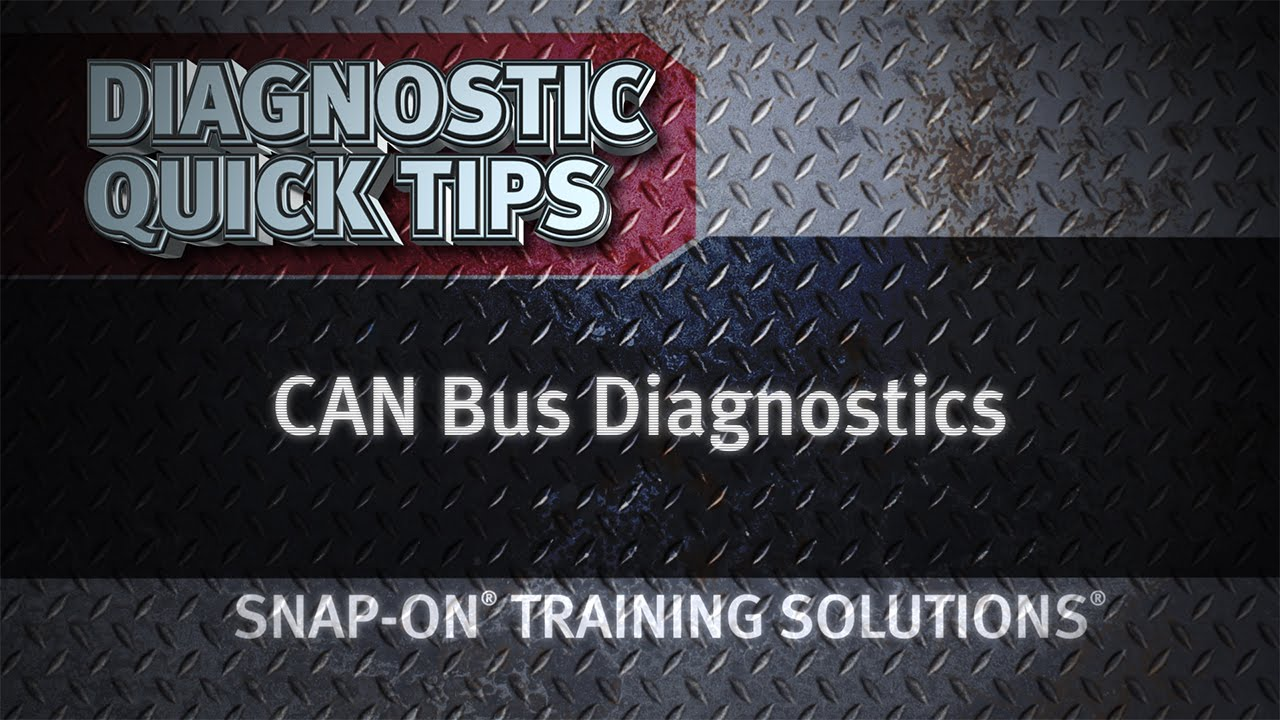 can bus diagnostics diagnostic quick tips snap on training solutions youtube [ 1280 x 720 Pixel ]