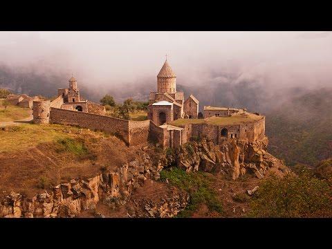 Самая длинная в мире канатная дорога Крылья Татева в Армении