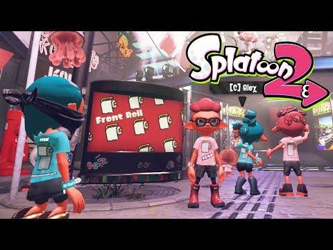 Splatoon 2 - Toilet Roll - Front Or Back?! - Splatfest!
