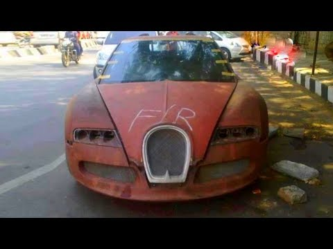 Abandoned luxury cars being in Dubai