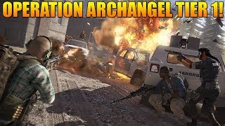 OPERATION ARCHANGEL FULL WALKTHROUGH on TIER 1 MODE! | Ghost Recon Wildlands Caveira PVE Mission