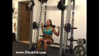 Fitness Model LEG Training Routine with Hitch Fit\'s Diana Chaloux - LaCerte
