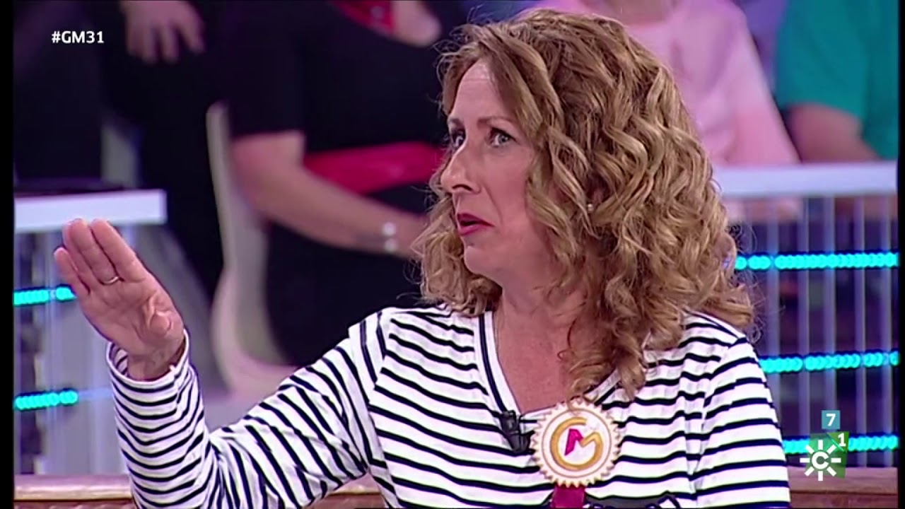 La vecina de Gines Carmen Morales, en Gente Maravillosa de Canal Sur TV