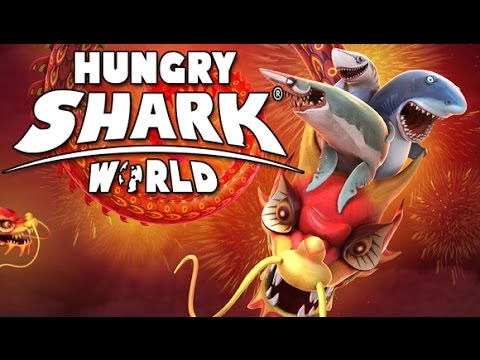 NEW MAP, NEW RECORD !! SOUTH CHINA SEA - Hungry Shark World