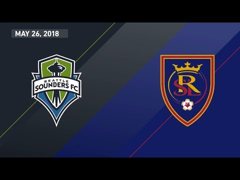 HIGHLIGHTS:  Seattle Sounders FC vs. Real Salt Lake | May 26, 2018