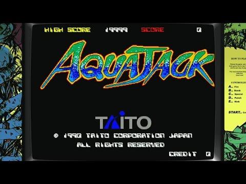 Aqua Jack [Arcade][HD-Gameplay 60 FPS]