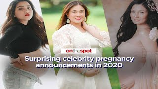 On the Spot: Surprising celebrity pregnancy announcements in 2020
