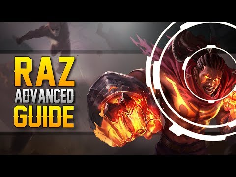 Arena of Valor [Road to Victory]: Raz Advanced Guide